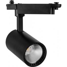 Светодиодный светильник AL102 трековый на шинопровод 12W 4000K 35 градусов черный