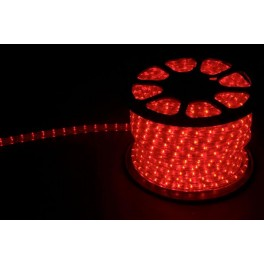 Дюралайт (световая нить) со светодиодами, 3W 50м 230V 72LED/м 11х17мм, красный-желтый, LED-F3W