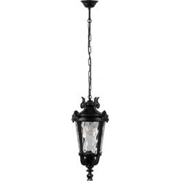 Светильник садово-парковый PL4005 круглый на цепочке 60W 230V E27, черный