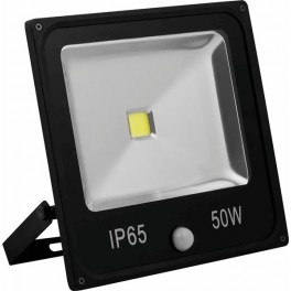 Светодиодный прожектор с встроенным датчиком LL-863 IP65 50W 6400K