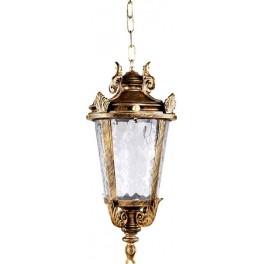 Светильник садово-парковый PL4005 круглый на цепочке 60W 230V E27, черное золото