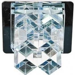Светильник потолочный, JC G4 прозрачным стеклом, хром, с лампой, JD121-CL