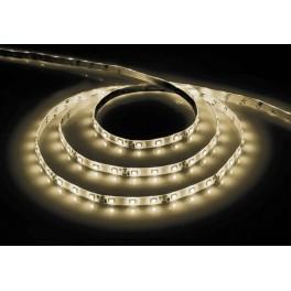 Cветодиодная LED лента LS604, 60SMD(3528)/м 4.8Вт/м  5м IP65 12V 3000К