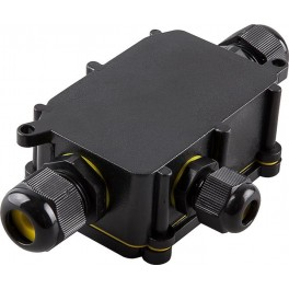 Водонепроницаемая cоединительная коробка, LD523, 450V, 140х78х36, черный