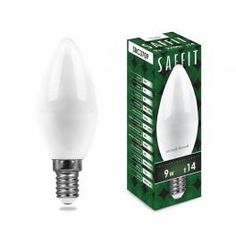Лампа светодиодная SAFFIT SBC3709 Свеча E14 9W 2700K
