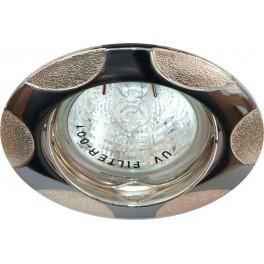 Светильник встраиваемый 156T-MR16 потолочный MR16 G5.3 хром-серебро