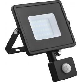 Светодиодный прожектор с датчиком  LL-906 IP44 20W 6400K