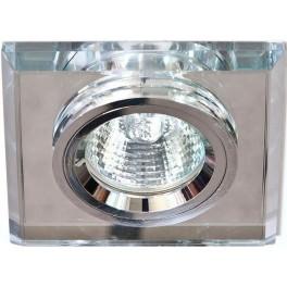 Светильник встраиваемый 8170-2 потолочный MR16 G5.3 серебристый
