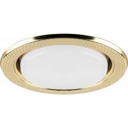 Светильник встраиваемый DL5042 потолочный GX53 золото