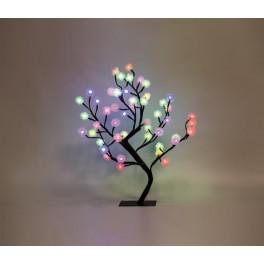 Светодиодное дерево LT020 с RGB LED подсветкой от сети, высота 53 см