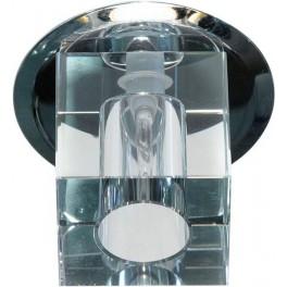 Светильник встраиваемый JD57S потолочный JC G4 прозрачный