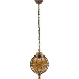 Светильник садово-парковый PL3805  круглый на цепочке 60W 230V E27, черное золото