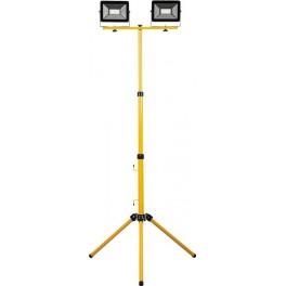 Светодиодный прожектор LL-503  на штативе IP65 2*50W 6400K