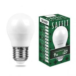 Лампа светодиодная SAFFIT SBG4509 Шарик E27 9W 6400K