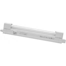 Светильник люминесцентный, 30W 230V T4 с лампой, с сетевым и соединительным шнурами, белый, САВ1B