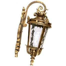 Светильник садово-парковый, 60W 230V E27 черное золото, IP44, PL4002