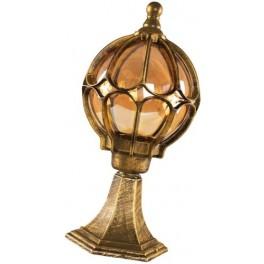 Светильник садово-парковый, 60W 230V E27 черное золото, IP44, PL3804