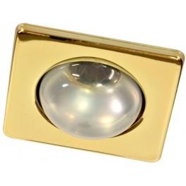 Светильник потолочный, R39 Е14 золото, 3758