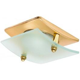 Светильник потолочный, R50 E14, матовое золото с матовым стеклом, арт. 4720