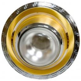 Светильник потолочный, R39 E14 серебро-золото,1723