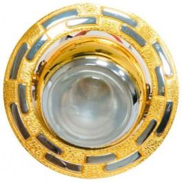 Светильник потолочный, R39 E14 золото-хром,1726