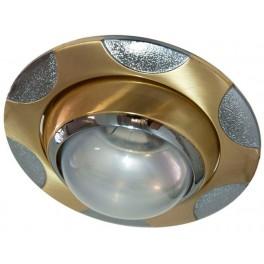 156-R39 40W E14 мат.золото-хром/ Gold Matt-Chrome