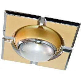 Светильник потолочный, R39 E14 золото-хром, 098-R39-S