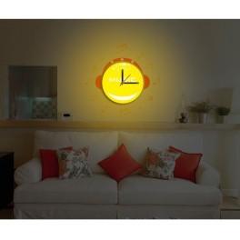 Светильник-часы 8*0,5W LEDs 5730smd с USB-проводом ( 5V адаптор в комплект не входит); 1*AA батарея ( в комплект не входит), NL70