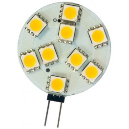 Лампа светодиодная, 9LED(2W) 12V G4 2700K, LB-16