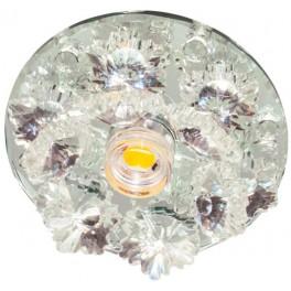 Светильник потолочный 10W 220V/50Hz 600Lm 3000K прозрачный, прозрачный, 1540