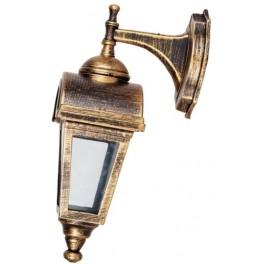 Светильник садово-парковый, 60W 230V E27 IP44 черное золото, PL4012