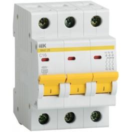 Автоматический выключатель ВА47-29 3Р 25А 4,5кА С