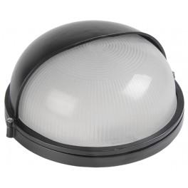 Светильник НПП1303 черный/круг п/сфера 60Вт IP54