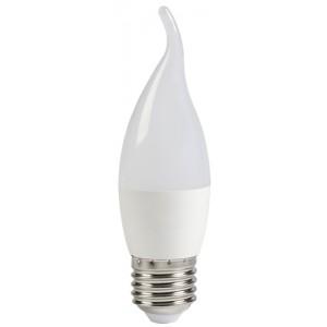 Лампа светодиодная ECO CB35 свеча на ветру 5Вт 230В 4000К E27