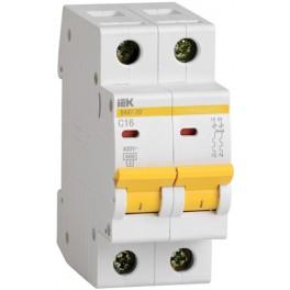 Автоматический выключатель ВА47-29 2Р 25А 4,5кА С
