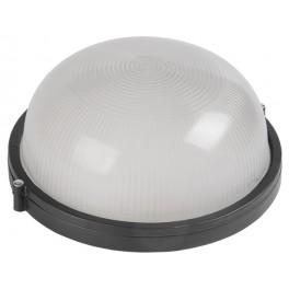 Светильник НПП1101 черный/круг 100Вт IP54
