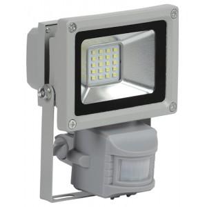 Прожектор СДО 05-10Д(детектор)светодиодный серый SMD IP44