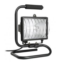 Прожектор ИО500П(переноска) галоген.черный IP54