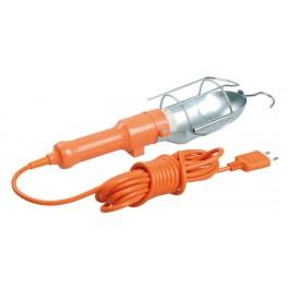 Светильник переносной УП-1Р плоская вилка (с выключателей ) 2Р/10метров 2х0,75