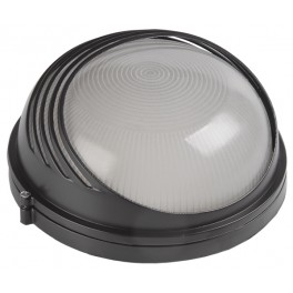 Светильник НПП1307 белый/круг ресничка 60Вт IP54