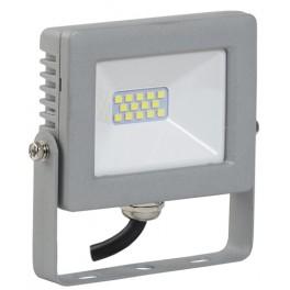 Прожектор СДО 07-10 светодиодный серый IP65