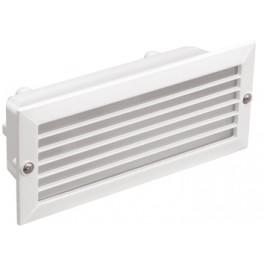 Светильник НВП3101 белый/прямоугольник с решеткой 60Вт IP54