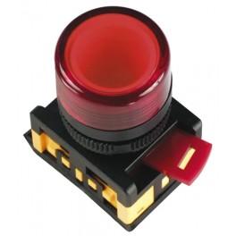 Лампа AL-22TE сигнальная d22мм зеленый неон/240В цилиндр
