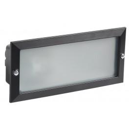 Светильник НВП3102 черный/прямоугольник без решетки 60Вт IP54