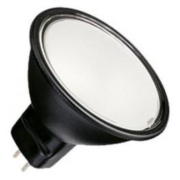 Лампа BLV Reflekto Fr/Black 35W 40 град. 12V GU5.3 3500h черный / матовая