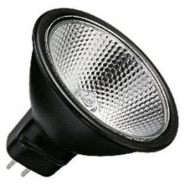 Лампа BLV Reflekto FARBIG 50W 36 град. 12V GU5.3 4500h черный / прозрачная