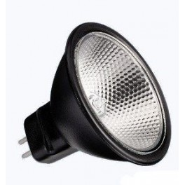 Лампа BLV Reflekto Alu/Black 35мм 20W 12 град. 12V GU4 3500h черный / прозрачная