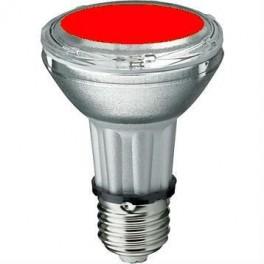 Лампа BLV HIT-PAR 20 35W re E27 35W 95V 0,5 A 3000cd 6000h u360 красная - цветная