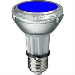 Лампа BLV HIT-PAR 20 35W bl E27 35W 95V 0,5 A 750cd 6000h u360 синяя - цветная
