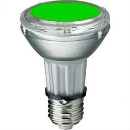 Лампа BLV HIT-PAR 20 35W gr E27 35W 95V 0,5 A 8000cd 6000h u360 зеленая - цветная